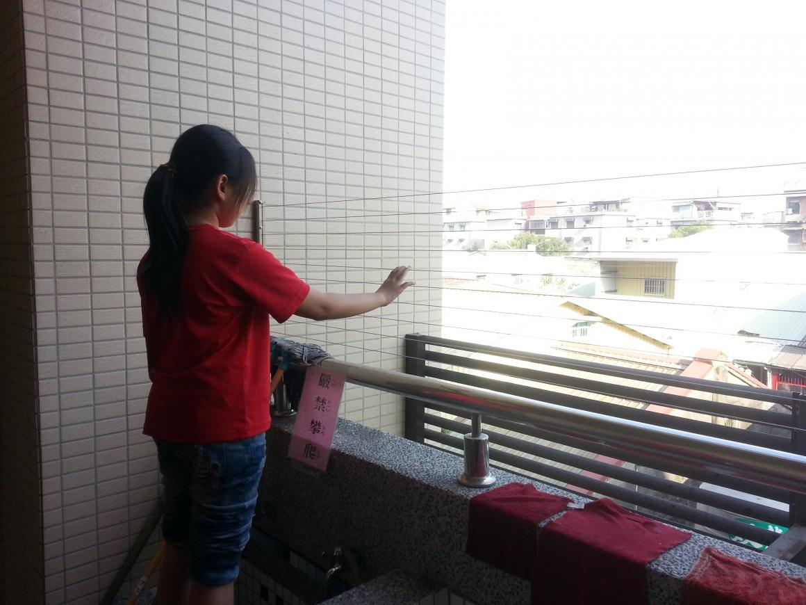 隱形鐵窗、尼龍網有效防止校園墜樓事件發生
