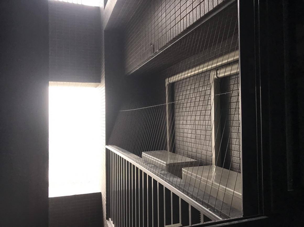 台中市大里區-隱形防鴿網